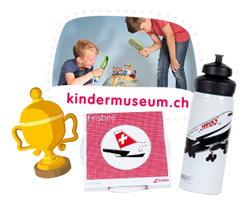 Great prizes in the world of ice prize draw of SWISS Kids
