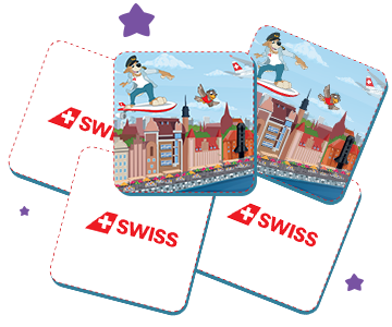 A few cards from the SWISS Kids Memory